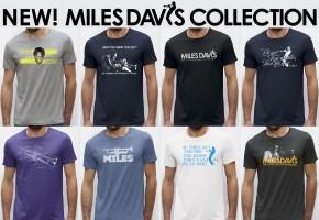 Worn Free Launches New Miles Davis T-ShirtLine