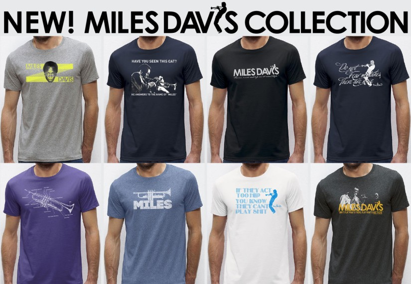 Worn Free Launches New Miles Davis T-Shirt Line