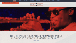 MilesDavis.com Gets A Much-Needed, Long Overdue Redesign